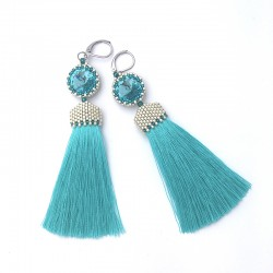 Arabella (turquoise) - kolczyki