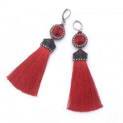 Arabella (red) - kolczyki